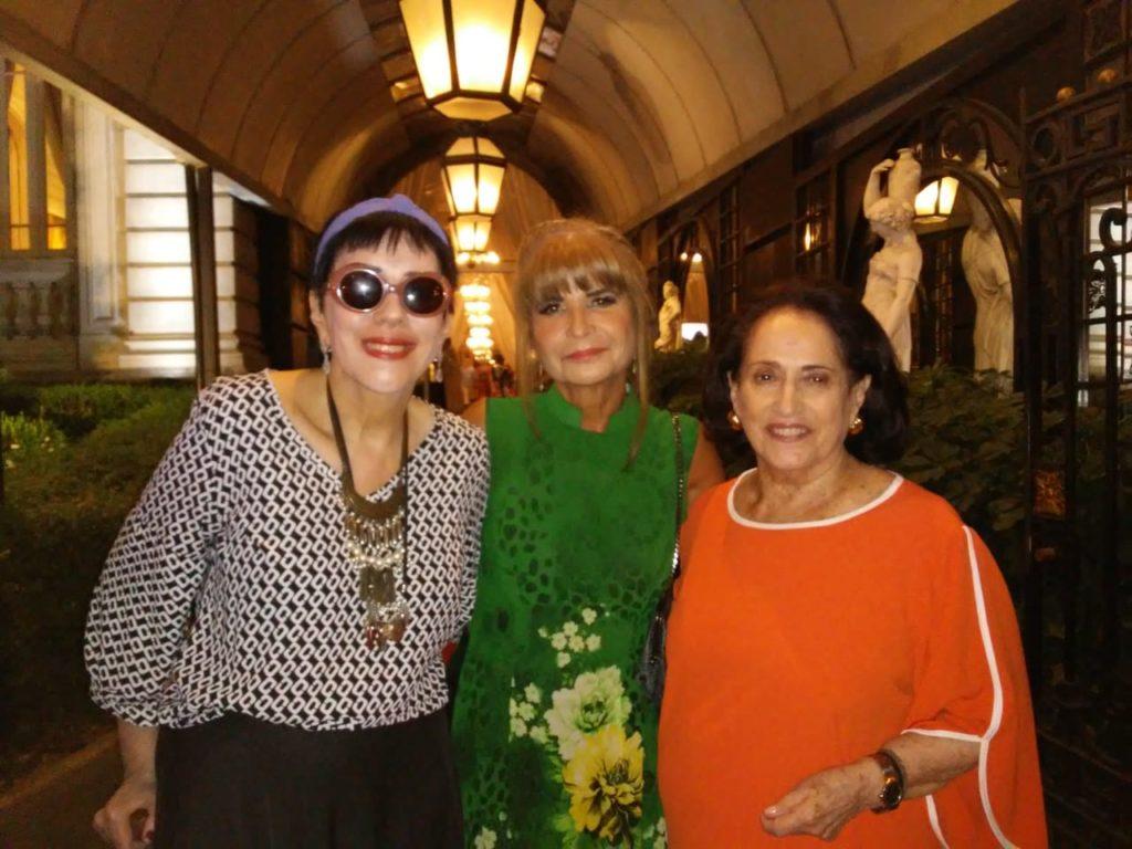 Belita Tamoyo e Yacy Nunes com Rita Cortez, presidente do Instituto dos Advogados Brasileiros ( IAB)