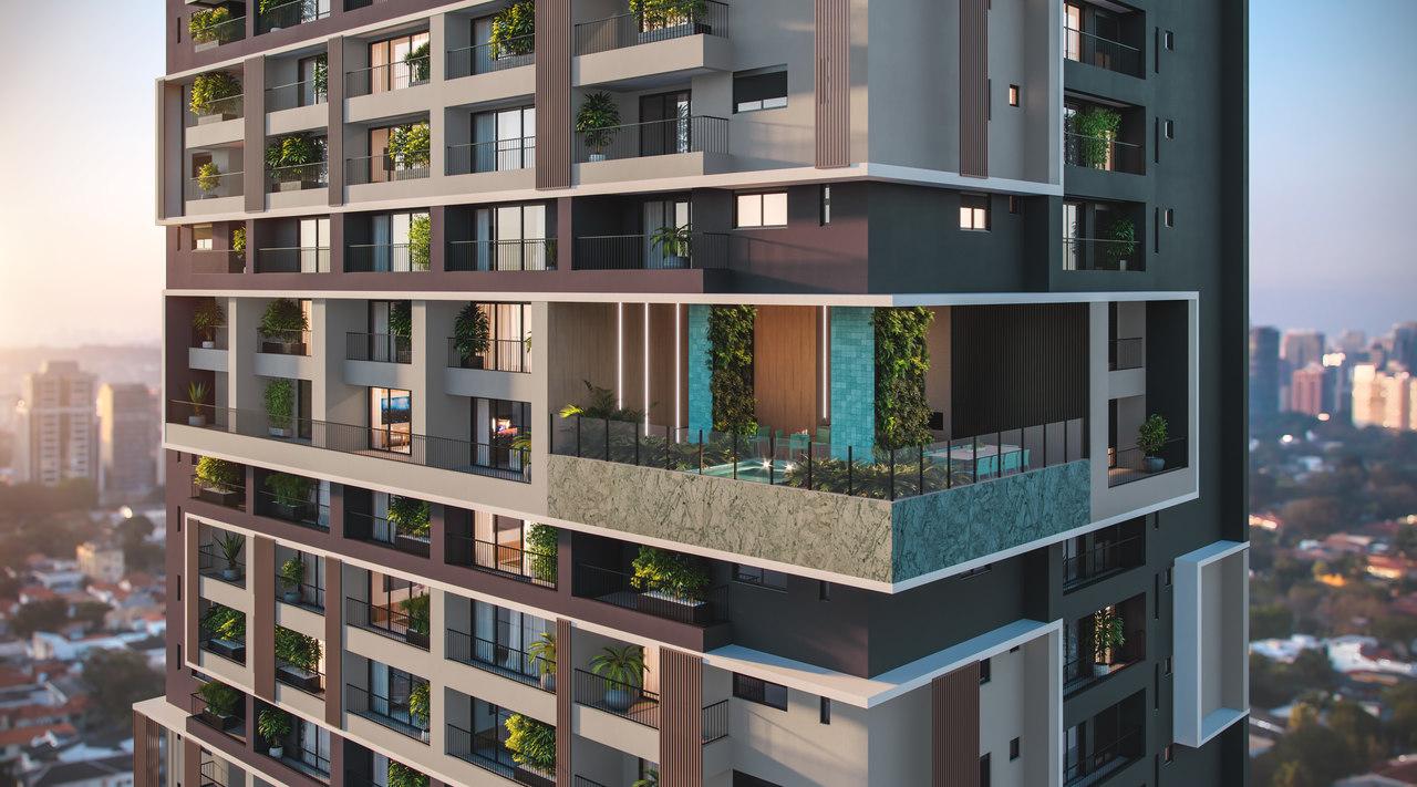 Mercado imobiliário de luxo adere a metragens mais compactas