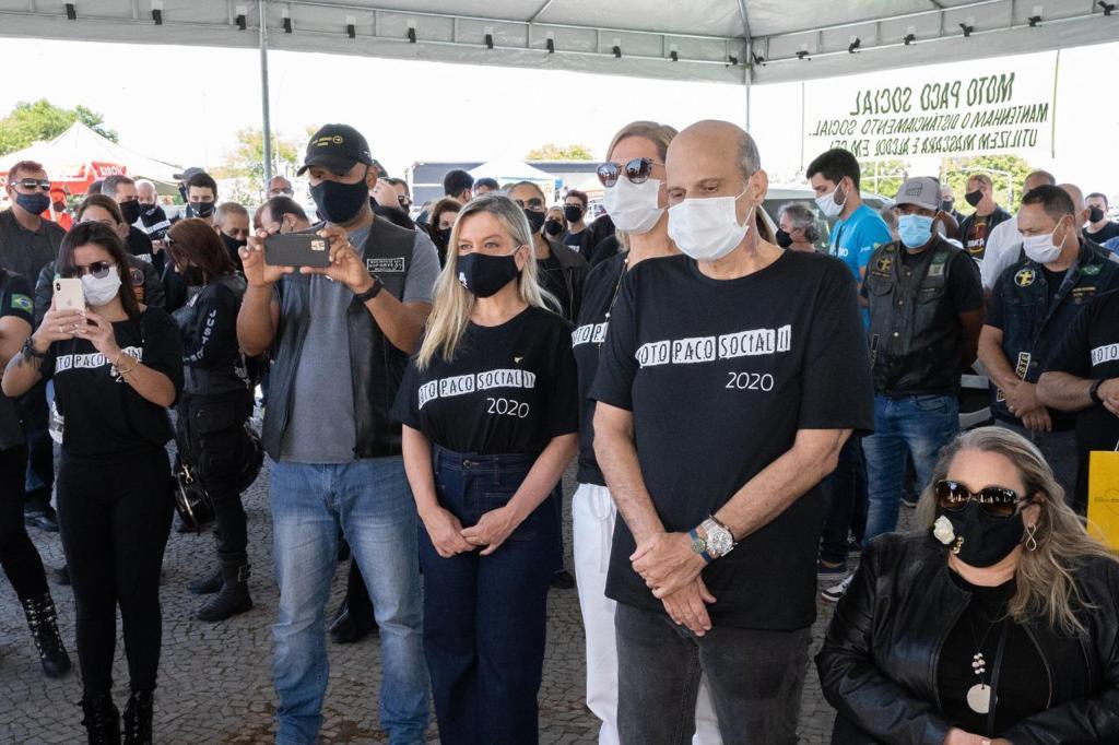 Roteiro da Solidariedade: Secretaria de Turismo do DF participa do Moto Paco Social