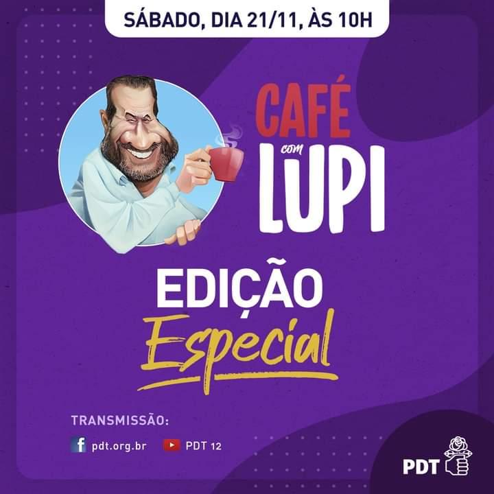 Cultura é tema do Café com Lupi deste sábado