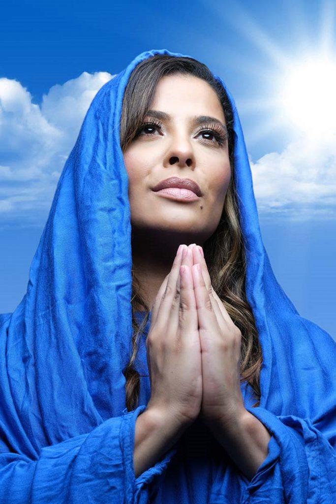 Gyselle Soares será Maria na Paixão de Cristo online, de Teresina, no Piauí, no próximo dia 21