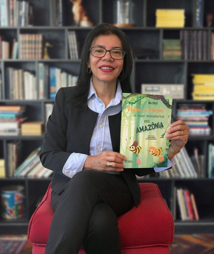 Escritora Isa Colli participa da Bienal Internacional do Livro de São Paulo