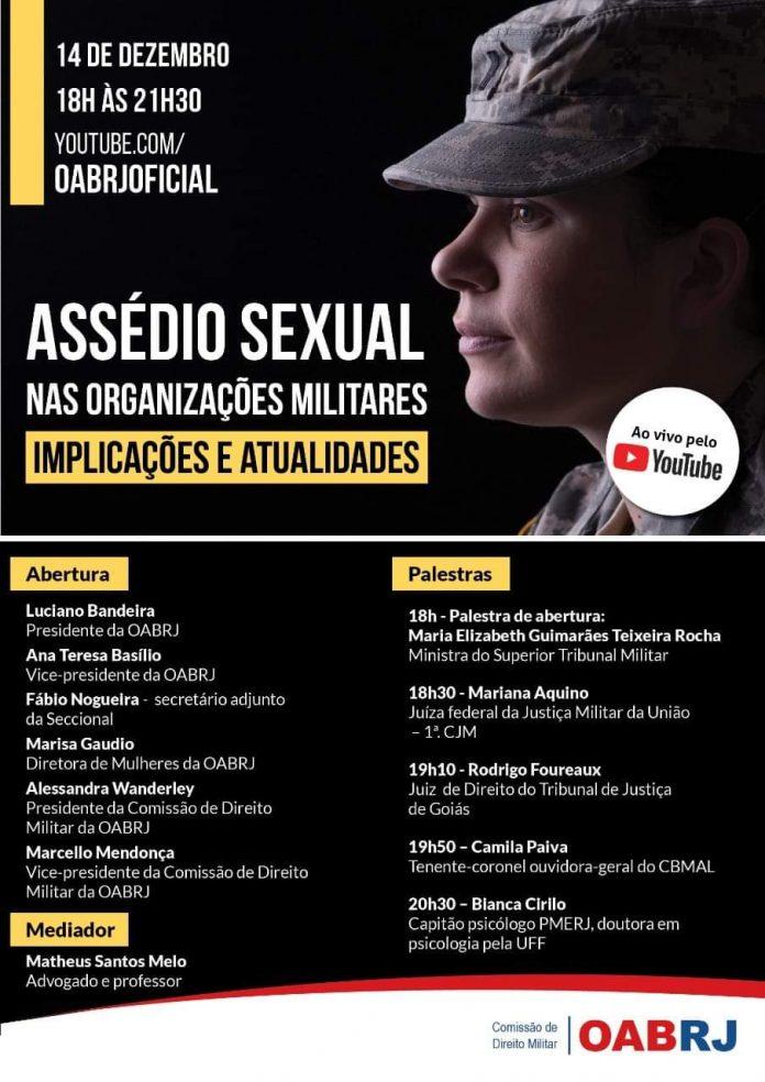 O Assédio Sexual nas organizações militares.