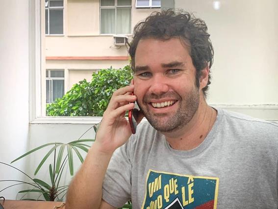 Pedro do Livro recebe indicação para Prêmio Band Inspira Rio