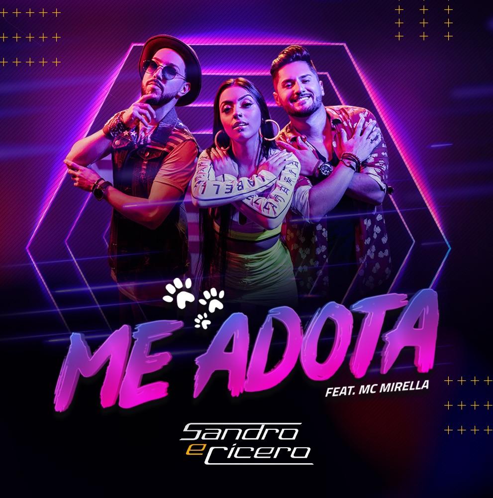 Sandro e Cícero lançam Me Adota nas rádios do Brasil