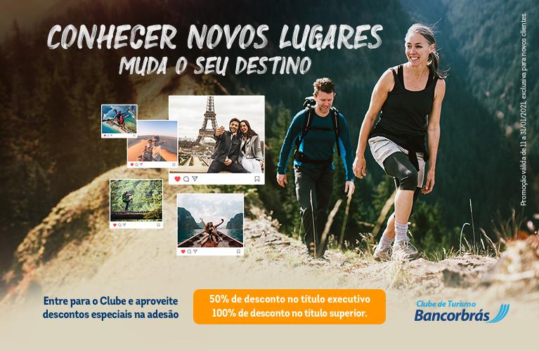 Novos destinos: com promoção exclusiva, Clube de Turismo Bancorbrás incentiva turistas a planejarem novas viagens