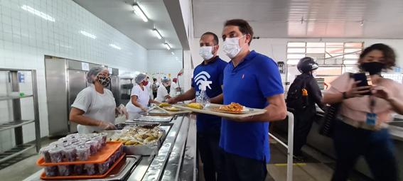 Restaurante Comunitário do Paranoá com Wi-Fi gratuito