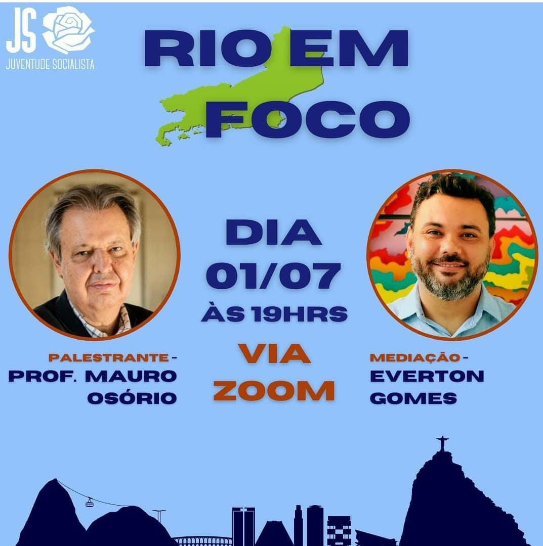 Rio de Janeiro é tema de encontro virtual