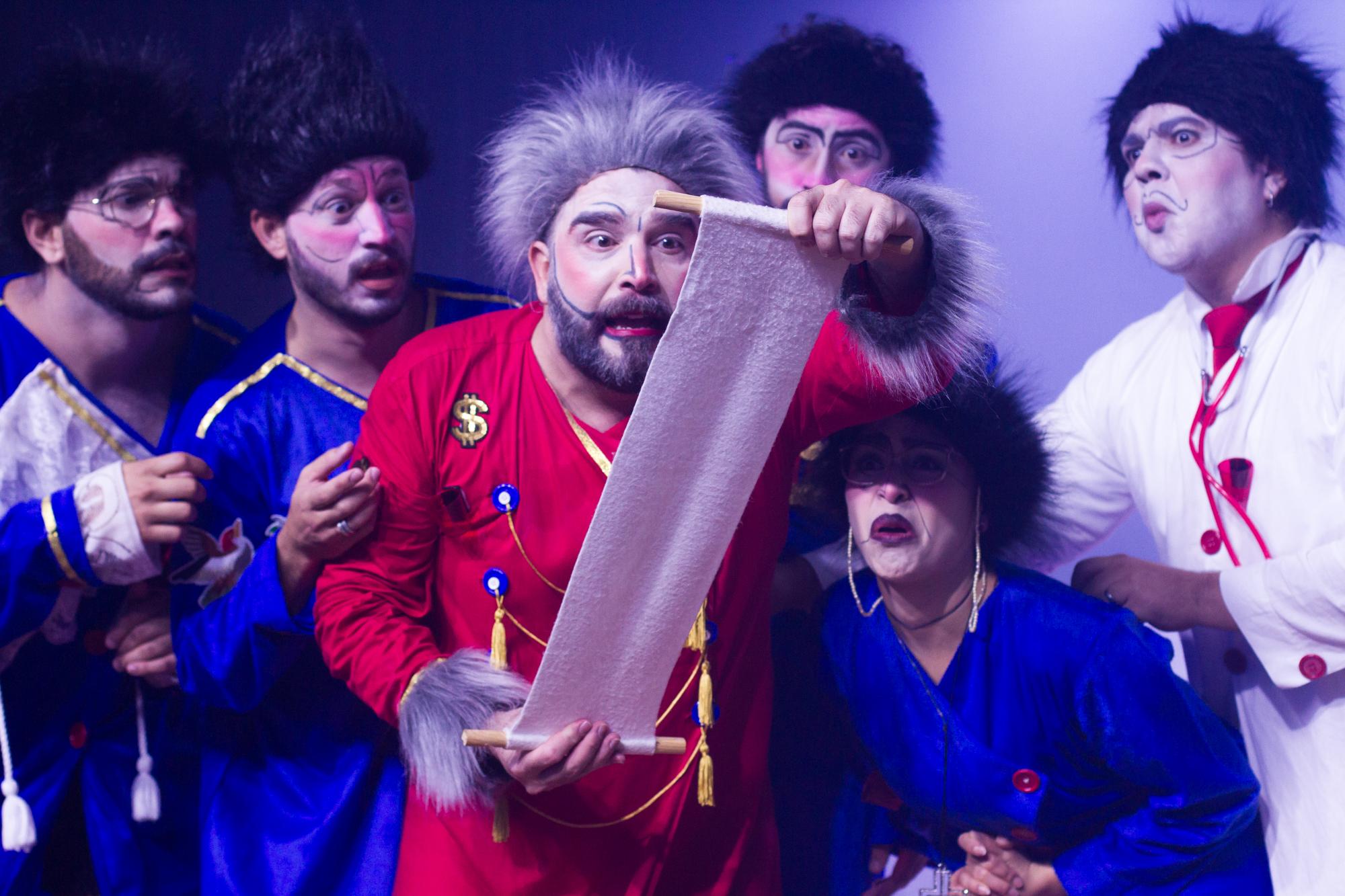 Teatro dos Ventos estreia espetáculo de rua na reinauguração do Castelinho do Parque da Cidade