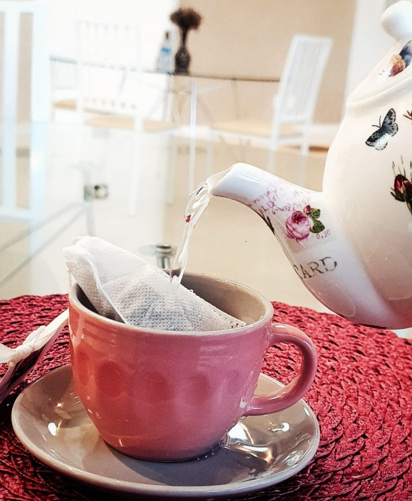 Ravenna Brasília oferece chás gratuitamente todos os dias